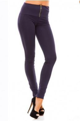 """Теплые синии лосины """"Лайла"""" - женская одежда, бижутерия оптом. Фото - look-and-buy.com"""