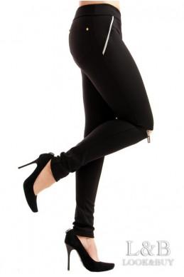 """Лосины """"Сьюзи"""" черный - женская одежда, бижутерия оптом. Фото - look-and-buy.com"""
