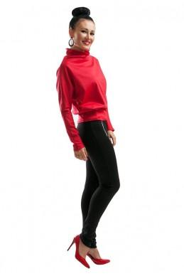 """Лосины """"Эмили"""" черный - женская одежда, бижутерия оптом. Фото - look-and-buy.com"""
