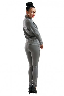 """Лосины """"Эмили"""" серый - женская одежда, бижутерия оптом. Фото - look-and-buy.com"""