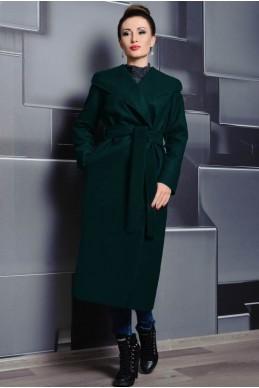 90cd5939b46 Стильное пальто с капюшоном Мариз