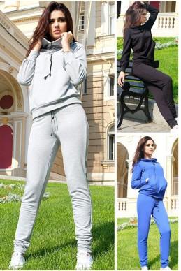 """Спортивный костюм с капюшоном """"МонБлан"""" - женская одежда, бижутерия оптом. Фото - look-and-buy.com"""
