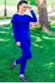 """Спортивные костюмы """"Stefani"""", электрик - женская одежда, бижутерия оптом. Фото - look-and-buy.com"""