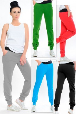 """Спортивные штаны """"Style"""" - женская одежда, бижутерия оптом. Фото - look-and-buy.com"""