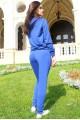 """Спортивный костюм """"МонБлан"""", синий - женская одежда, бижутерия оптом. Фото - look-and-buy.com"""