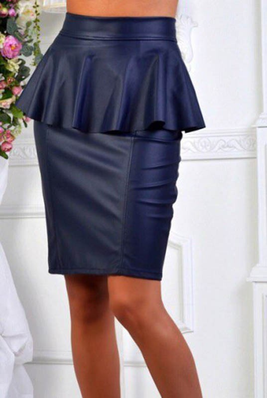 eed000e7e22 Купить юбку с баской Айла