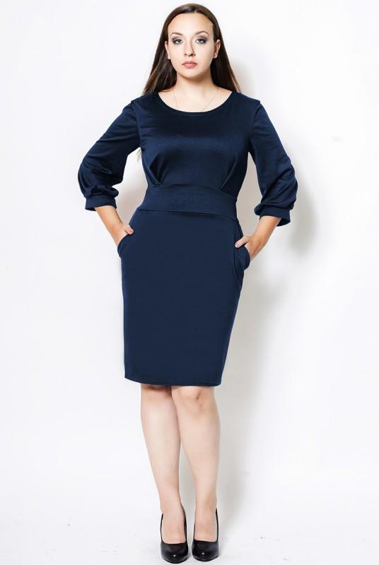 0fbb371439d3 Платье для офиса батал
