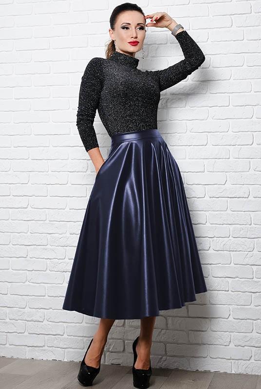 Купить Женскую модную юбку Мелисса эко кожа 7571b6343ef